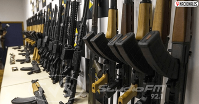 Interceptan en Brasil una banda que traficaba armas desde Paraguay