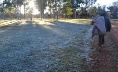 Escarchas y mínima de 5°C para la madrugada del jueves