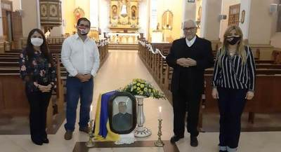 Homenaje a Pa'í García en medio de pandemia • Luque Noticias