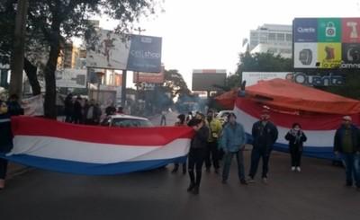 Manifestaciones en repudio al retroceso de fase inician en CDE