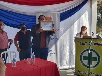 Inauguran pabellón de urgencias en el Centro de Salud de Juan E. O'Leary