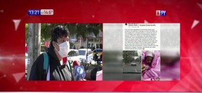Policías héroes: Madre llega a tiempo al hospital gracias a ayuda de la patrulla