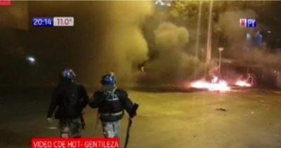 Heridos en violenta protesta de CDE contra retorno a fase 0