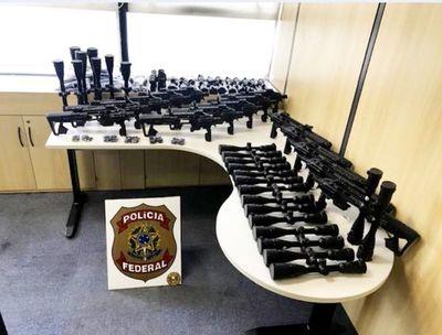 Tráfico de armas Paraguay-Argentina-Brasil