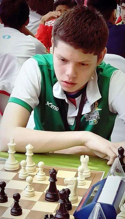 Ángel Montiel, campeón de Copa América Sub 17