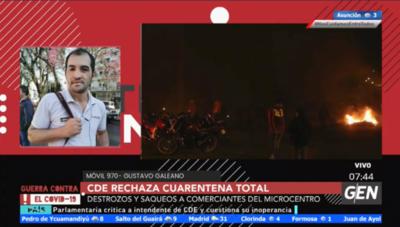HOY / Gustavo Galeano, con todo el recuento de lo ocurrido anoche en Ciudad del Este