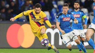 HOY / Barcelona-Nápoles se jugará como estaba previsto