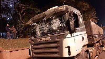 Camioneros responsabilizan al Gobierno por VIOLENCIA y exigen RESARCIMIENTOS