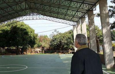 José Carlos Acevedo, el realizador, sigue apuntalando la educación en Pedro Juan Caballero