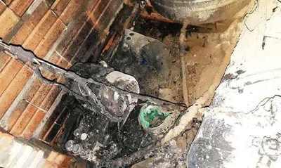 Incendio arrasa con lavadero de autos de periodista deportivo • Luque Noticias