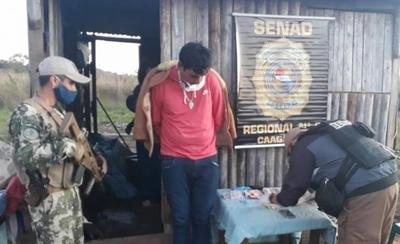 """HOY / Detienen a """"Yrybu"""" presunto microtraficante de drogas en Coronel Oviedo"""