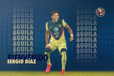 El chico Díaz es nuevo jugador del América de México