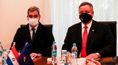 Se reunió el Consejo Nacional de Inteligencia con participación del presidente Abdo