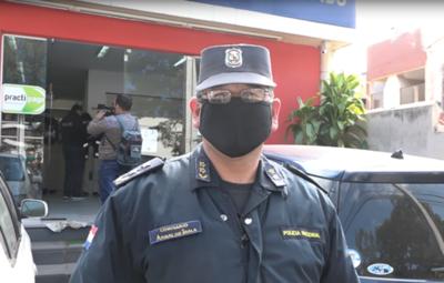 Asaltan financiera en barrio Pinozá de Asunción