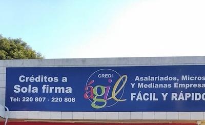 HOY / Delincuentes asaltan financiera en Asunción, a pocos metros de comisaría