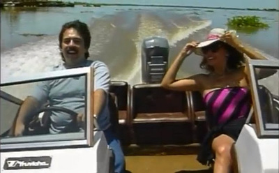 Héctor Silva y Clotilde Cabral protagonizarán «La Visita» este viernes en «Nde Rógape»