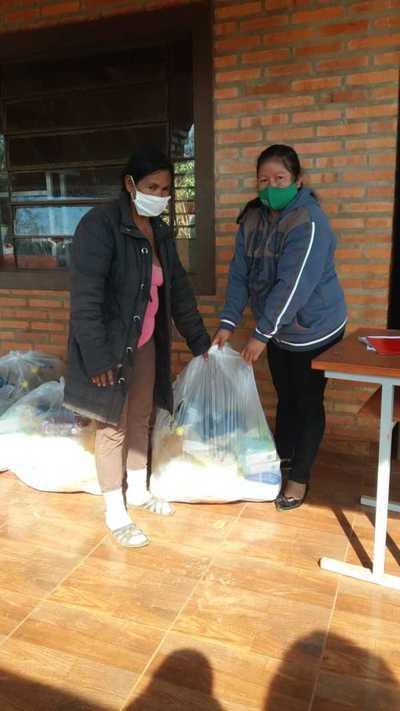 En Hernandarias comenzó entrega de los kits de alimentos en las escuelas