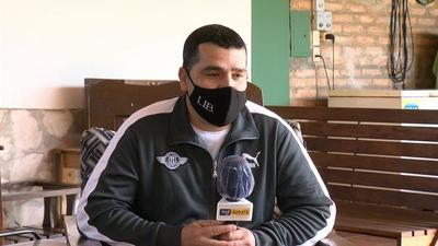 "Juan Samudio: ""Me gustó Libertad desde chiquito"""