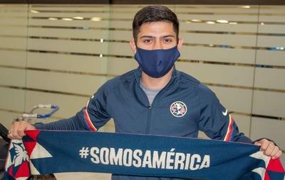 Sergio Díaz ya fue presentado en el América mexicano