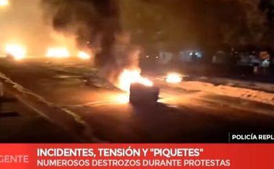 No descartan que protestas estén azuzadas por contrabandistas