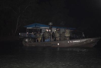 Brasil aumenta presencia en las aguas del lago Itaipú