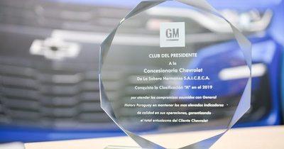 De la Sobera recibe una estrella más de General Motors