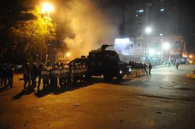 Investigan hechos de vandalismo luego de manifestación ciudadana