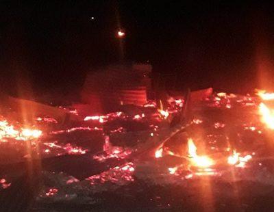Incendian vivienda en Minga Guazú