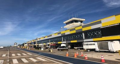 Aeropuerto de Foz vuelve a operar con vuelos internacionales