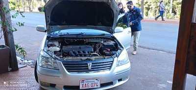 Incautan vehículo con chasis implantado
