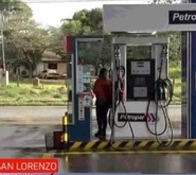 Asalto con toma de rehén a gasolinera de San Lorenzo