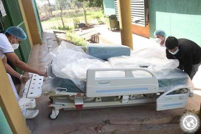 Covid-19: Hospital de Luque recibe camas para UTI • Luque Noticias