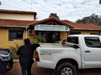 Allanan comisaría y sede fiscal de Curuguaty por presunta extorsión