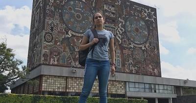 Paraguaya sobresaliente: para su segunda carrera logró ingresar a la mejor universidad de México