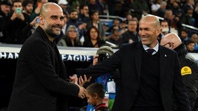 Pep Guardiola llenó de elogios a Zinedine Zidane