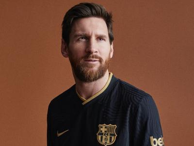Barcelona presenta su segunda equipación