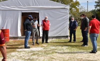 Campamento Sanitario de Hernandarias se habilitaría la semana próxima