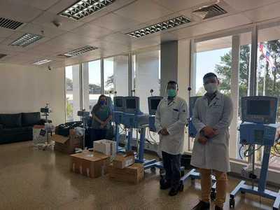 Hospital Integrado recibe respiradores para sumar 8 camas más de UTI