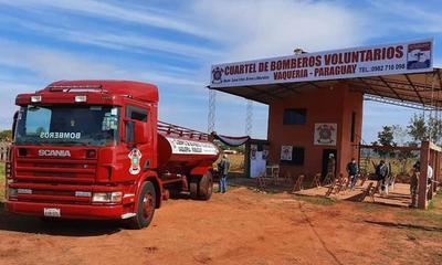 Bomberos del distrito de Vaquería reciben carro hidrante – Prensa 5