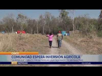 """""""LA GENTE PIENSA QUE NO QUEREMOS TRABAJAR"""" COMUNIDAD INDÍGENA AGUARDA INVERSIÓN AGRÍCOLA EN EL CHACO"""