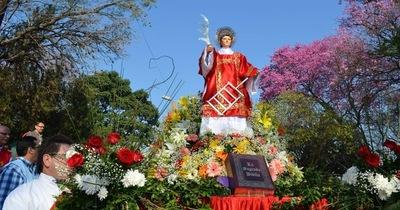 Novenario a San Lorenzo comienza mañana