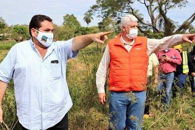Horqueta: Firman convenio para construcción de alcantarillado sanitario y Planta de tratamiento