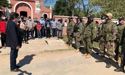 Habilitan departamento antiabigeato en Puerto Casado con presencia de Euclides Acevedo