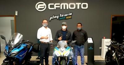 Firma IMAG presenta su nuevo modelo deportivo de CFMOTO