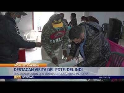 DESTACAN PRESENCIA DEL PRESIDENTE DEL INDI EN LAGUNA NEGRA
