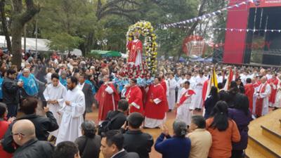 Inicio de novenario en honor a San Lorenzo Mártir