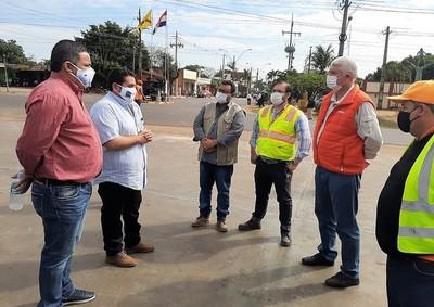Obras de desarrollo en Horqueta generan expectativa de trabajo y mejor calidad de vida