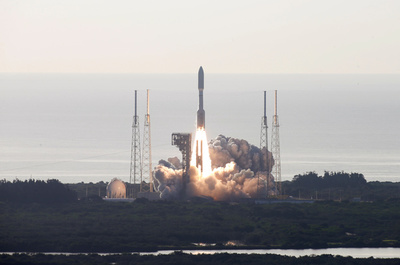 Las fotos del lanzamiento de la misión Perseverance de la NASA para buscar vida en Marte