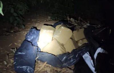 Senad incauta más de 400 kilos de marihuana prensada en Amambay