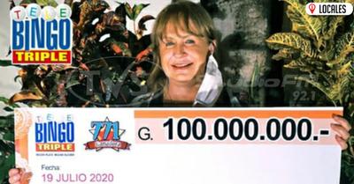 Telebingo Triple entregó Gs. 100.000.000 en Encarnación